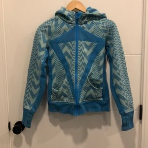 Lululemon Girls - Ivivva hoodie blue